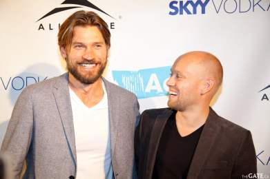 Nikolaj Coster-Waldau and Aksel Hennie