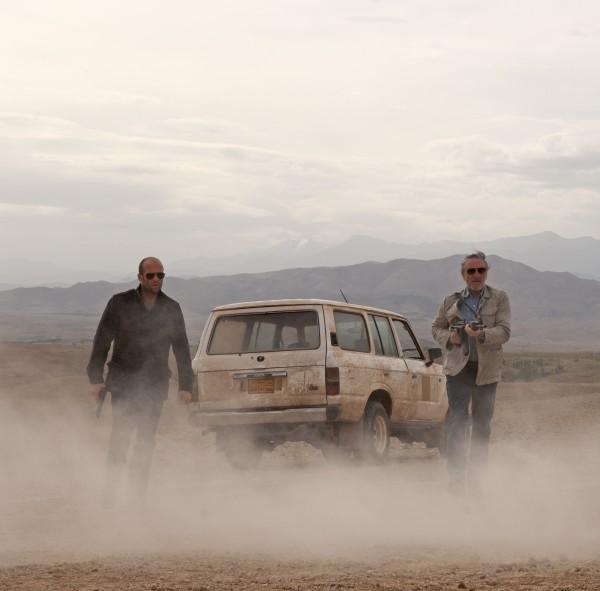 Scene from Killer Elite with Jason Statham and Robert De Niro