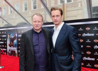 Stellan Skarsgard and Alexander Skarsgard