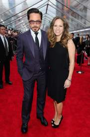 Robert Downey Jr. and Susan Downey