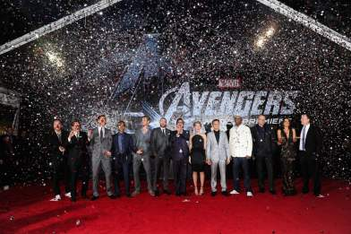 Cast of The Avengers