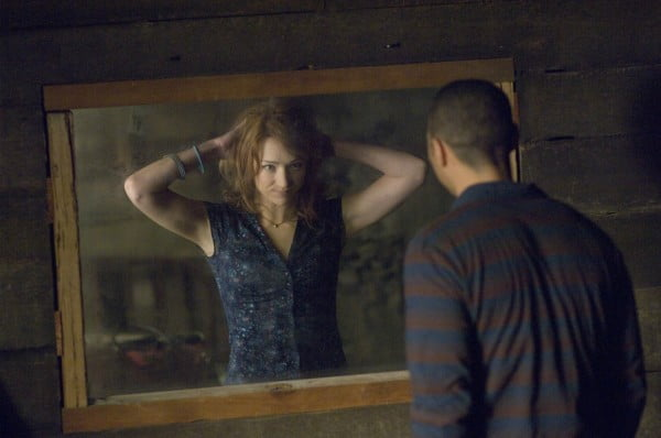 Kristen Connolly and Jesse Williams