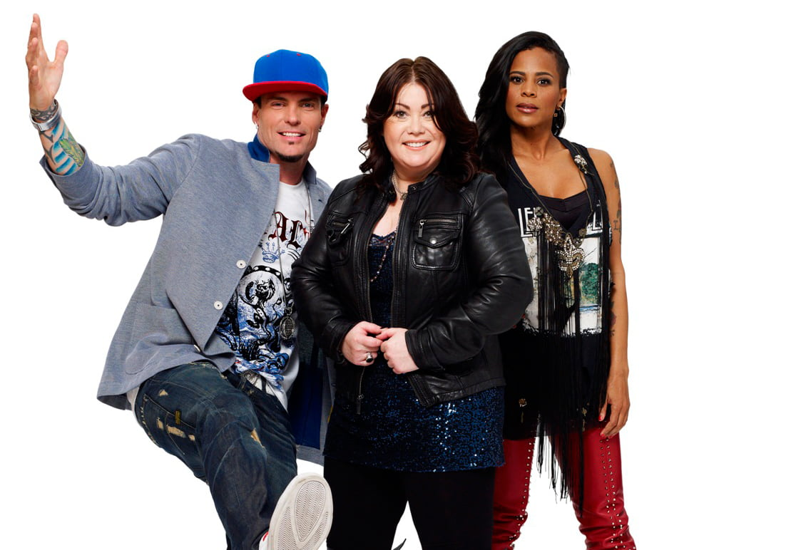 Canada Sings judges Vanilla Ice, Jann Arden and Laurieann Gibson