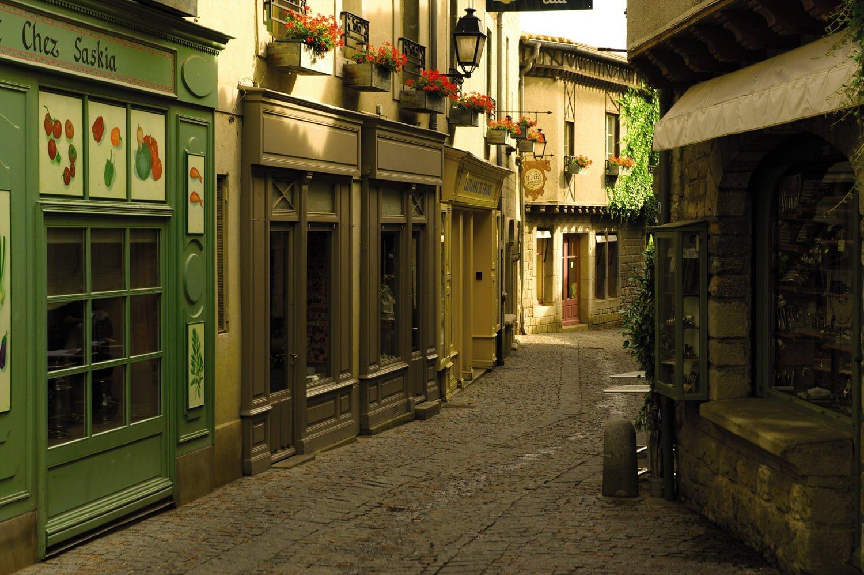 Cité de Carcassonne streets