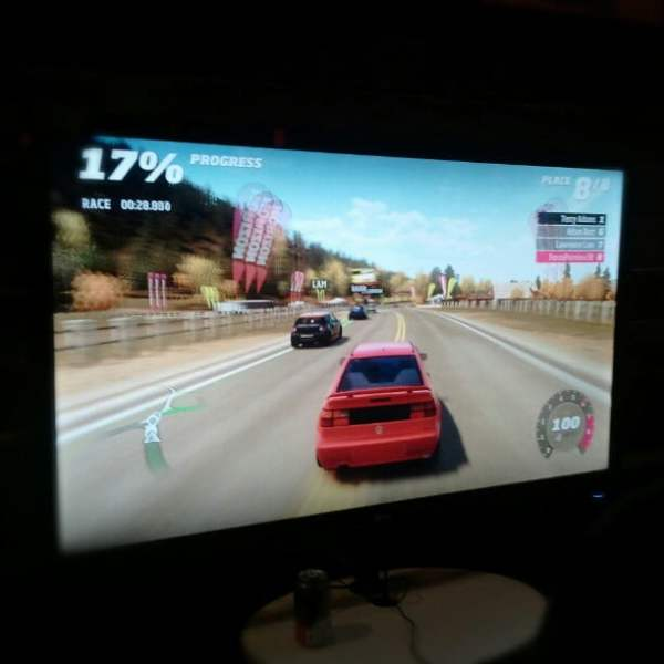 Photo: Forza Horizon media night, testing out the full game.