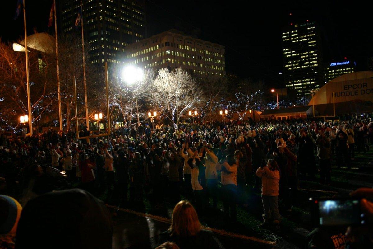 Grey Cup Festival flash mob