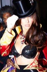 Adriana Lima backstage