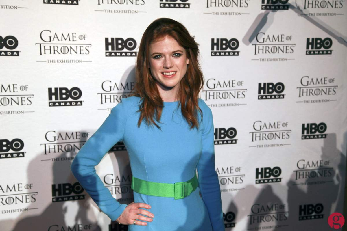 Game of Thrones star Rose Leslie