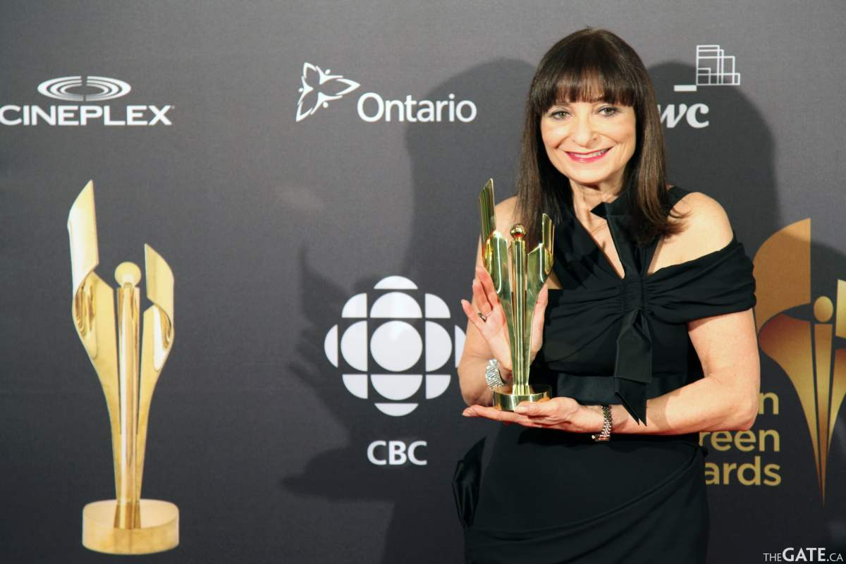 Jeanne Beker at the Canadian Screen Awards
