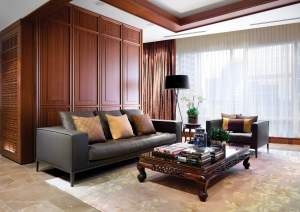 Shangri-La Suite - Living Area