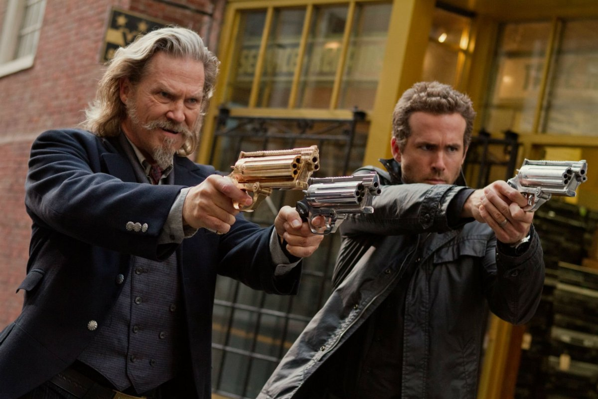 Jeff Bridges and Ryan Reynolds in R.I.P.D.