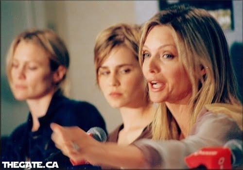 Robin Wright, Alison Lohman & Michelle Pfeiffer