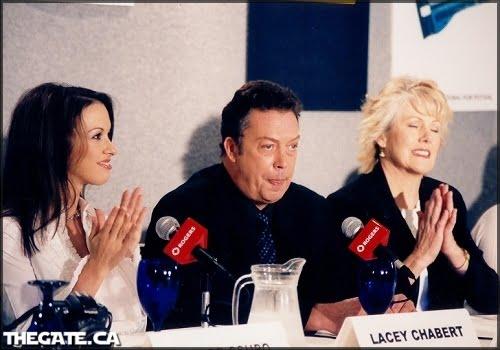Lacey Chabert, Tim Curry & Lynn Redgrave