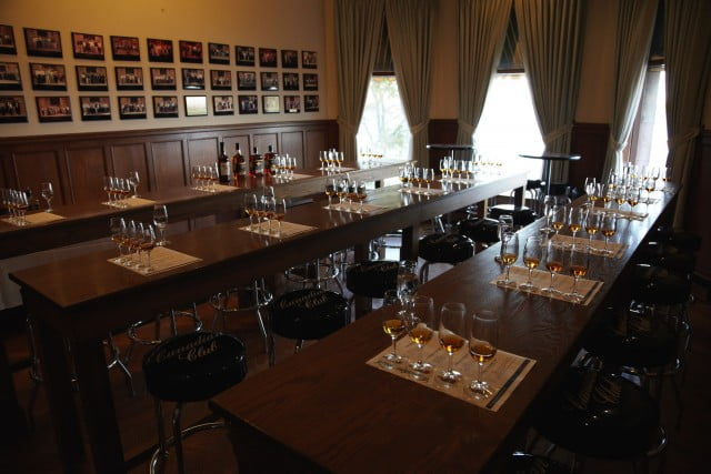 Canadian Club Tasting room