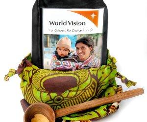 World Vision coffee gift set