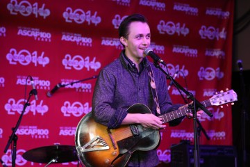 Sondre Lerche performing at the 2014 Sundance ASCAP Music Café