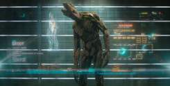 Groot voiced by Vin Diesel