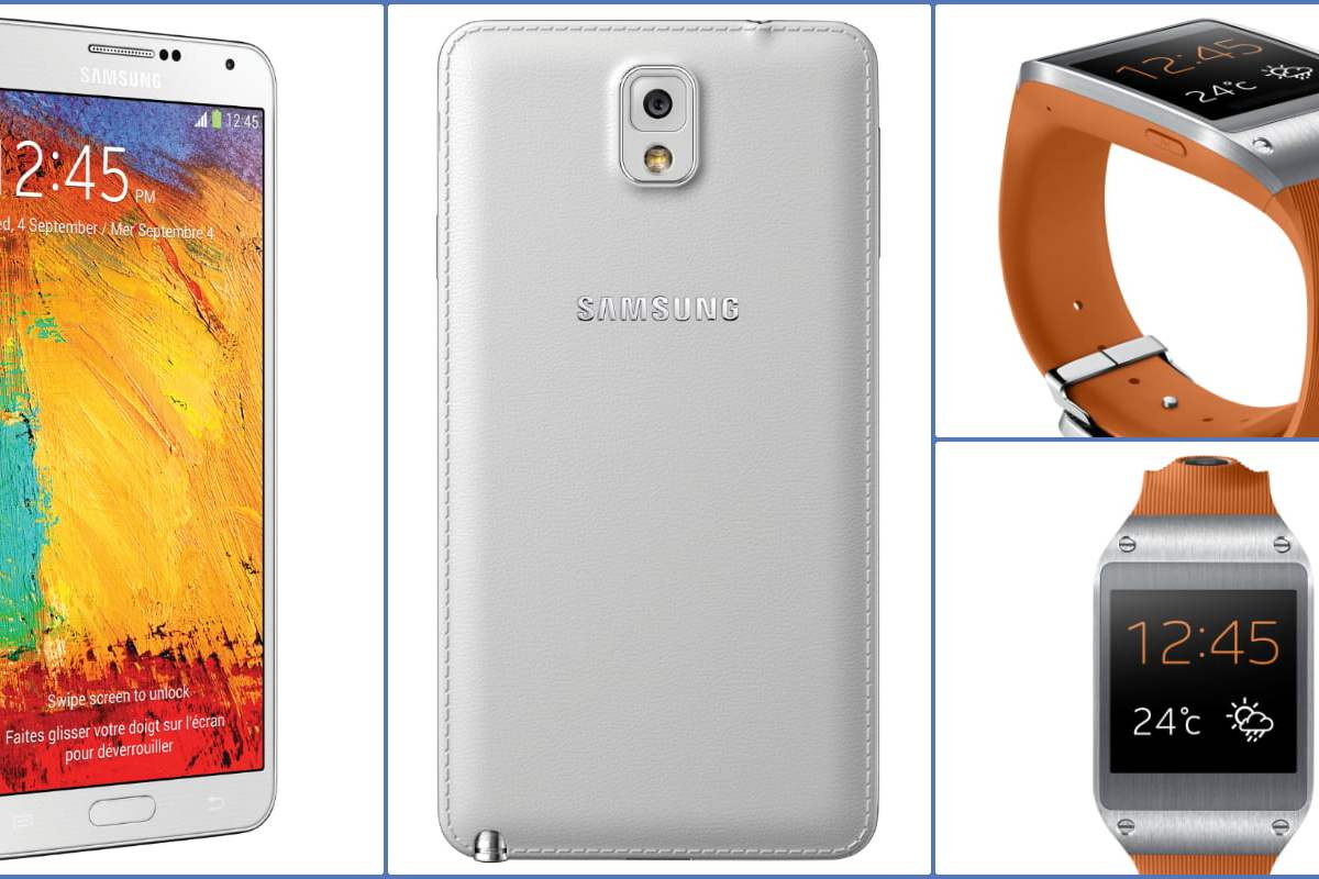 Samsung Note 3 & Galaxy Gear