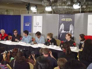 Corpse Bride press conference