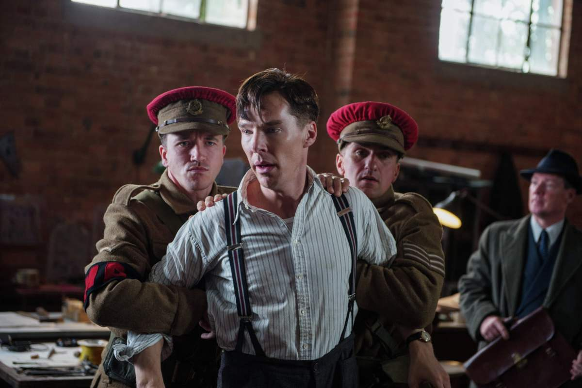 Benedict Cumberbatch in The Imitation Game