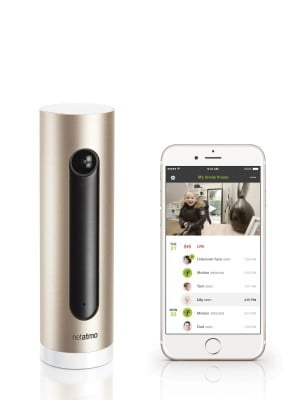 Netatmo Welcome with iPhone 6 App