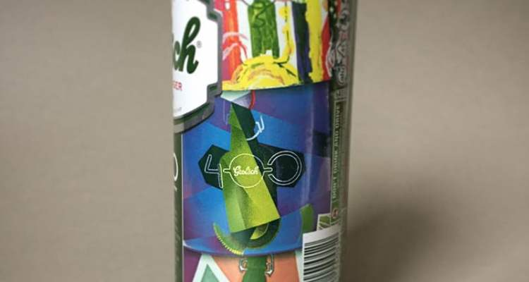 Grolsch's 400th Anniversary Can