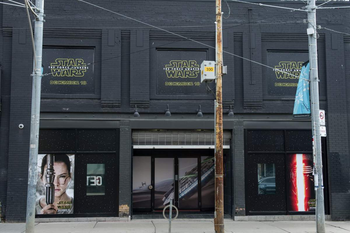Star Wars: The Force Awakens pop-up shop