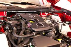 2017 Fiat 124 Spider Lusso engine