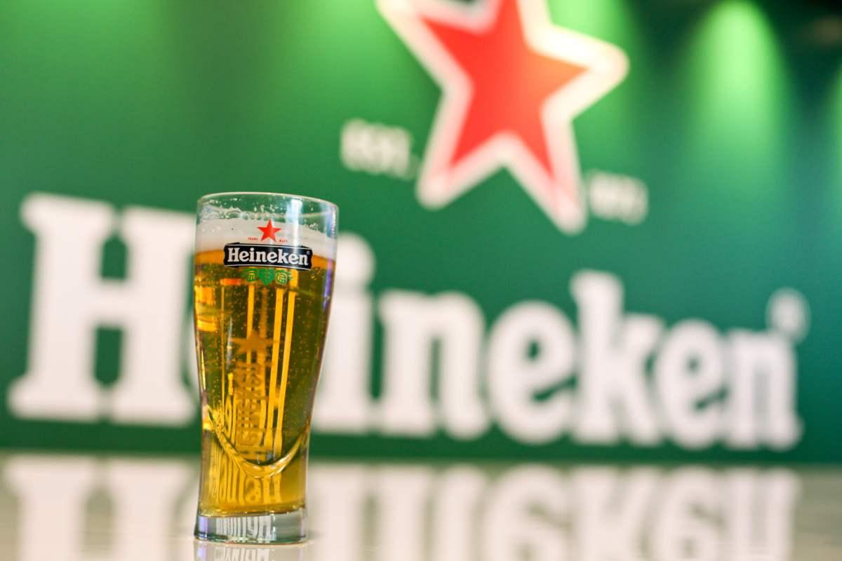 Heineken draft