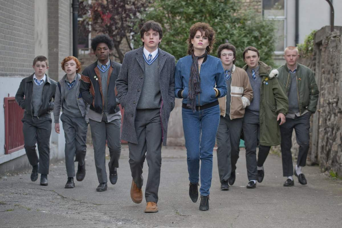 The cast of Sing Street