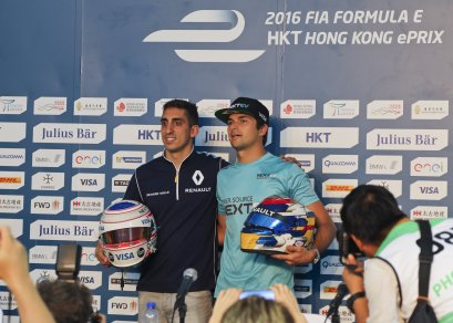 Hong Kong ePrix press conference