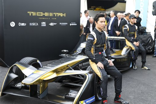 Techeetah car unveiling