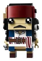 Captain Jack Sparrow BrickHeadz