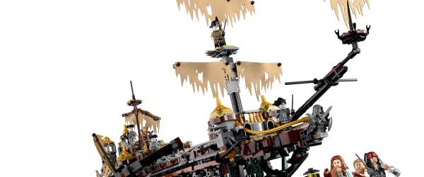 Silent Mary ghost ship from Pirates of the Caribbean: Dead Men Tell No Tales