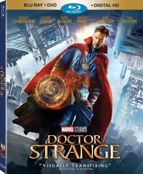 Doctor Strange on Blu-ray