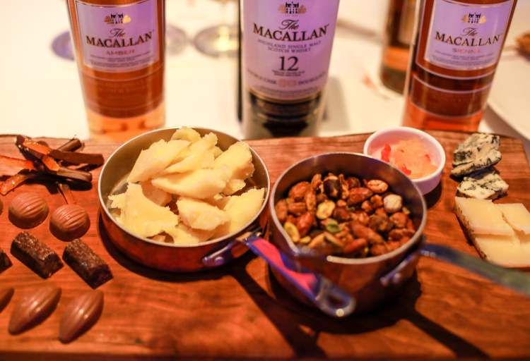 The Macallan Amber, Double Cask, and Sienna