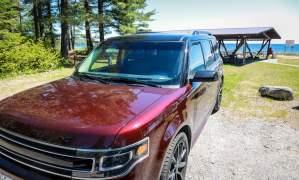 Ford Flex at Pancake Bay