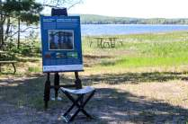 Group of Seven art display