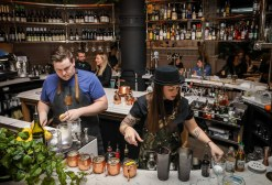 Shane Mulvany and Kaitlyn Stewart, Ketel One Pop-Up