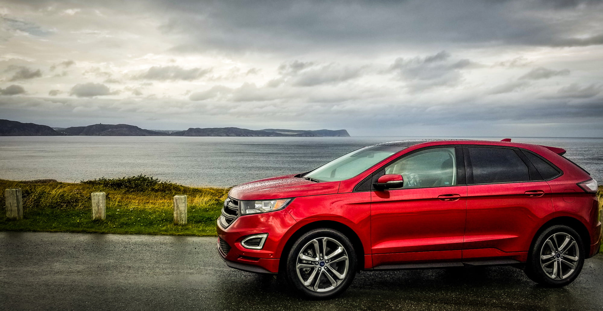 Ford Edge at Cape Spear