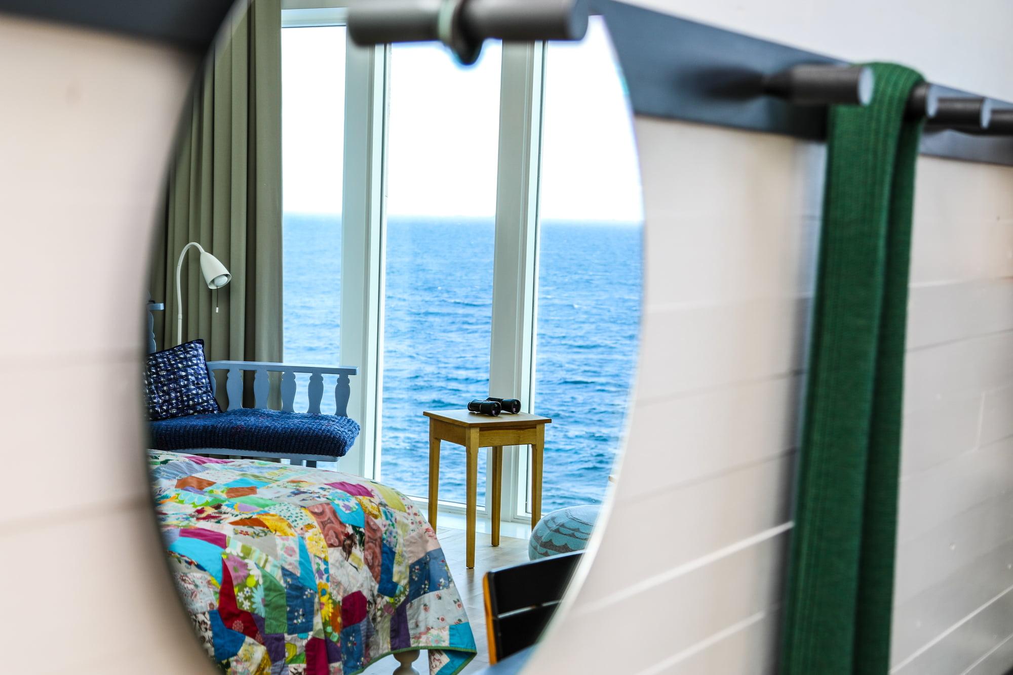 Room detail at Fogo Island Inn | Samsung Galaxy Note 8