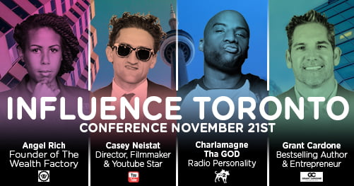 Giveaway: Tickets to InfluenceTO 2017