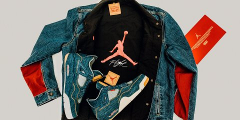 Levi's x Jordan collaboration