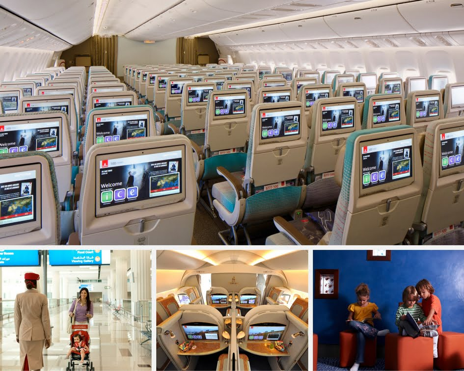 Emirates Airline Family Travel