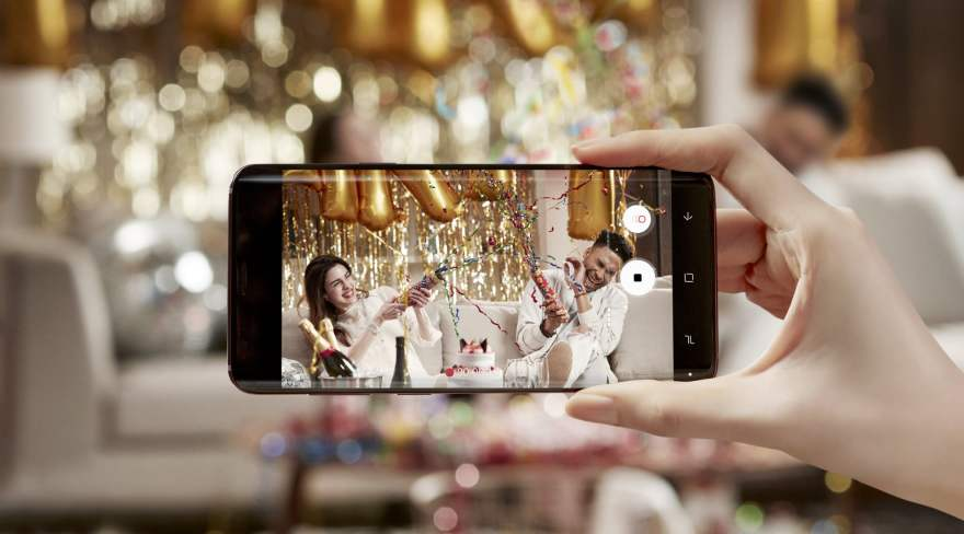 Samsung Galaxy S9 - Super-Slow Mo