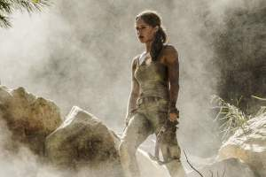 Tomb Raider starring Alicia Vikander