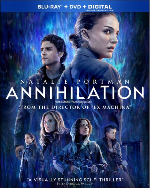 Annihilation on Blu-ray