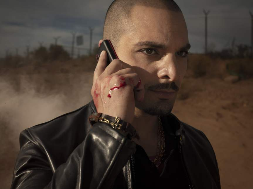 Michael Mando as Nacho Varga- Better Call Saul _ Season 4, Gallery - Photo Credit: Matthias Clamer/AMC