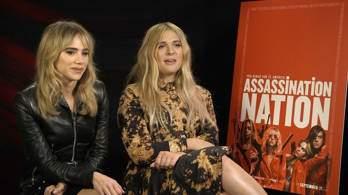 Interview: Assassination Nation stars Suki Waterhouse & Hari Nef