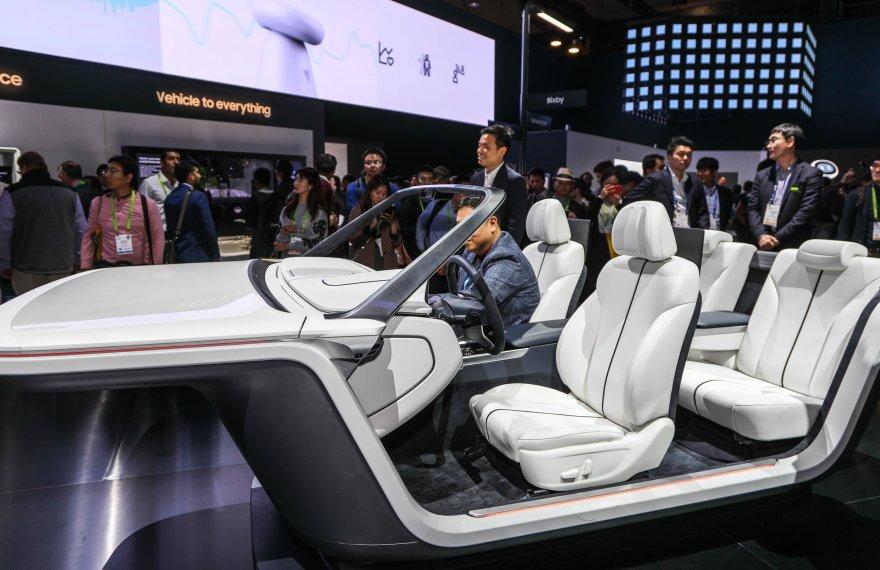 Samsung's Digital Cockpit